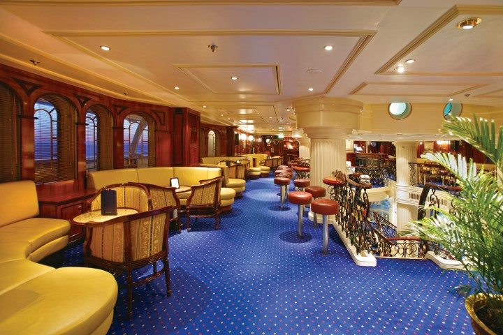 Public rooms are cozy and nautical in nature. Photo courtesy of Star Clippers.