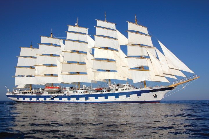Join us in December as we set sail for the Caribbean aboard Star Clippers' Royal Clipper. Photo courtesy of Star Clippers.