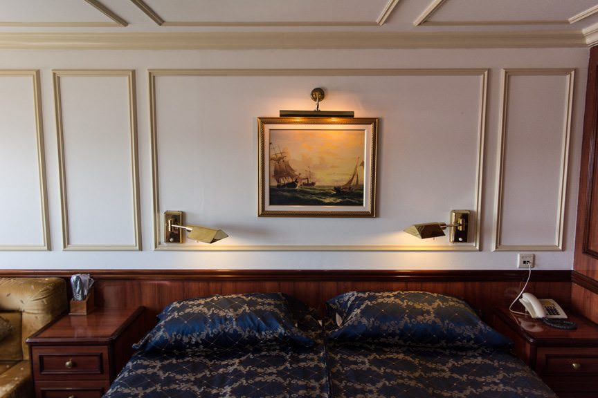 Due to its design, Royal Clipper has a number of unique staterooms that are worth knowing about. Photo © 2015 Aaron Saunders