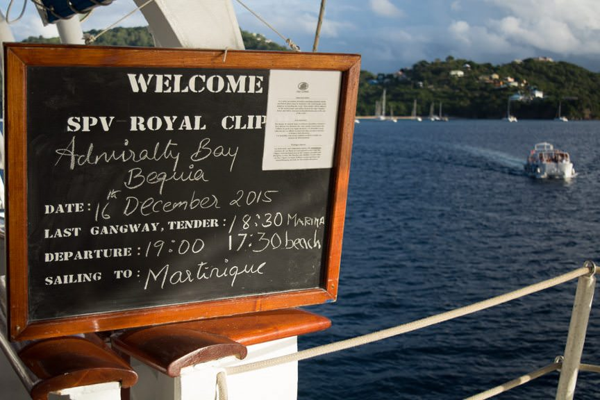 Welcome to Bequia! Photo © 2015 Aaron Saunders