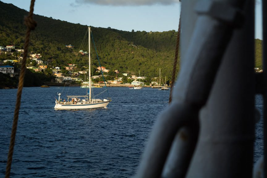 You visit Bequia if you're independently wealthy....Photo © 2015 Aaron Saunders