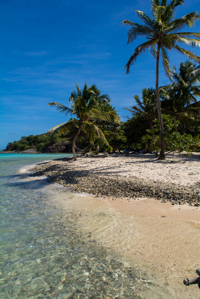 Today, we got the opportunity to relax in paradise with a full day at Tobago Cays. Photo © 2015 Aaron Saunders