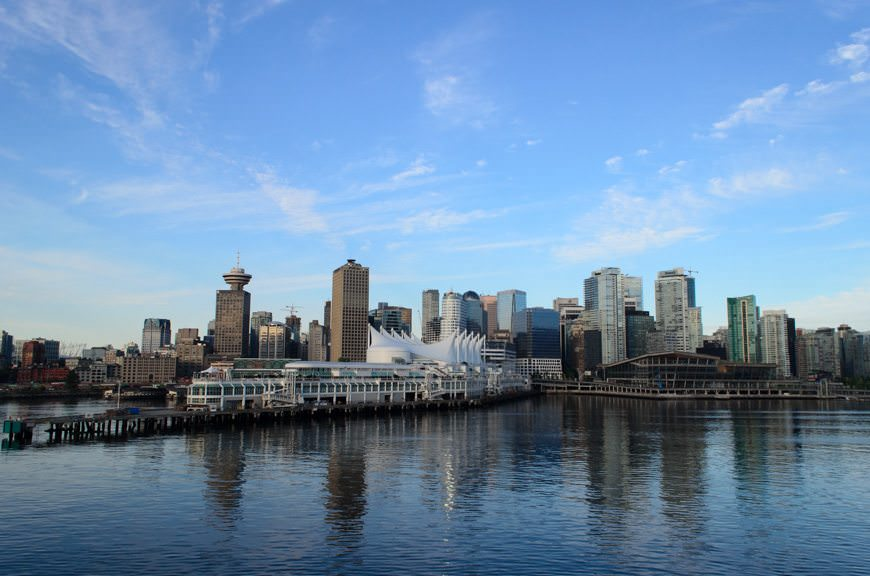Vancouver, British Columbia will serve as the primary homeport for Seabourn Sojourn in 2017. Photo © 2015 Aaron Saunders