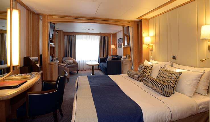 The Windstar Difference: Suites and public rooms alike now reflect Windstar's nautical ambiance. Photo courtesy of Windstar Cruises