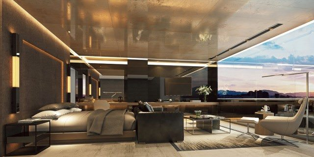 Scenic Eclipse Owner's Penthouse Suite.