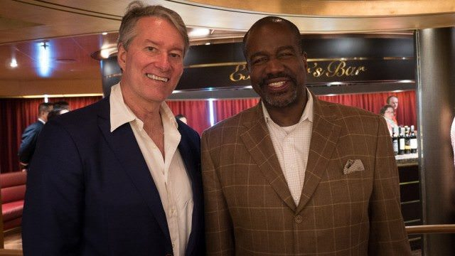 I got to talk with Orlando Ashford, president Holland America Line, about some of the enhancements throughout the fleet.