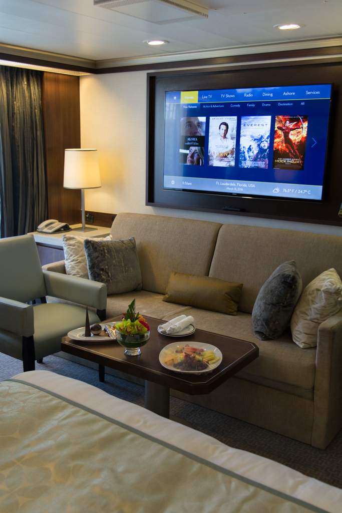 Holland America even swapped out these couches with brand-new ones. The underlying sofa bed in select categories has also received an upgrade, with substantially more comfortable mattresses. Photo © 2016 Aaron Saunders