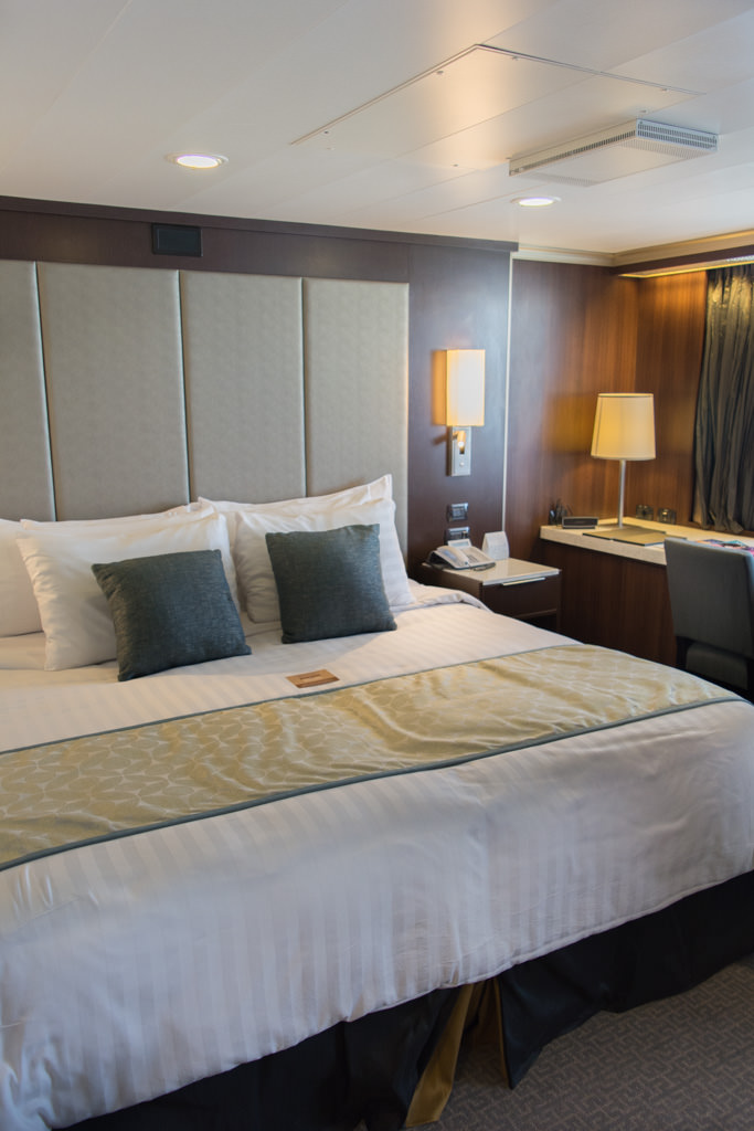 Welcome Home! Suites aboard Eurodam have received a brand-new colour scheme, surfaces, soft furnishings and features. Photo © 2016 Aaron Saunders