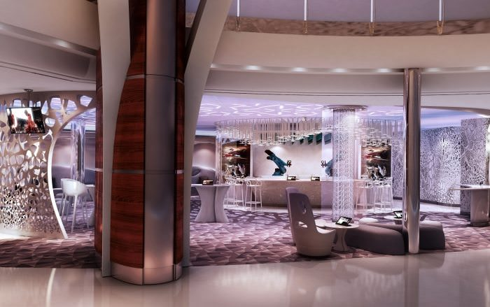The Bionic Bar is coming to Harmony of the Seas, and it's getting a larger space. Photo courtesy of Royal Caribbean.