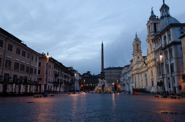 Silver Spirit's voyage will end in the beautiful city of Rome, Italy. Photo © 2013 Aaron Saunders