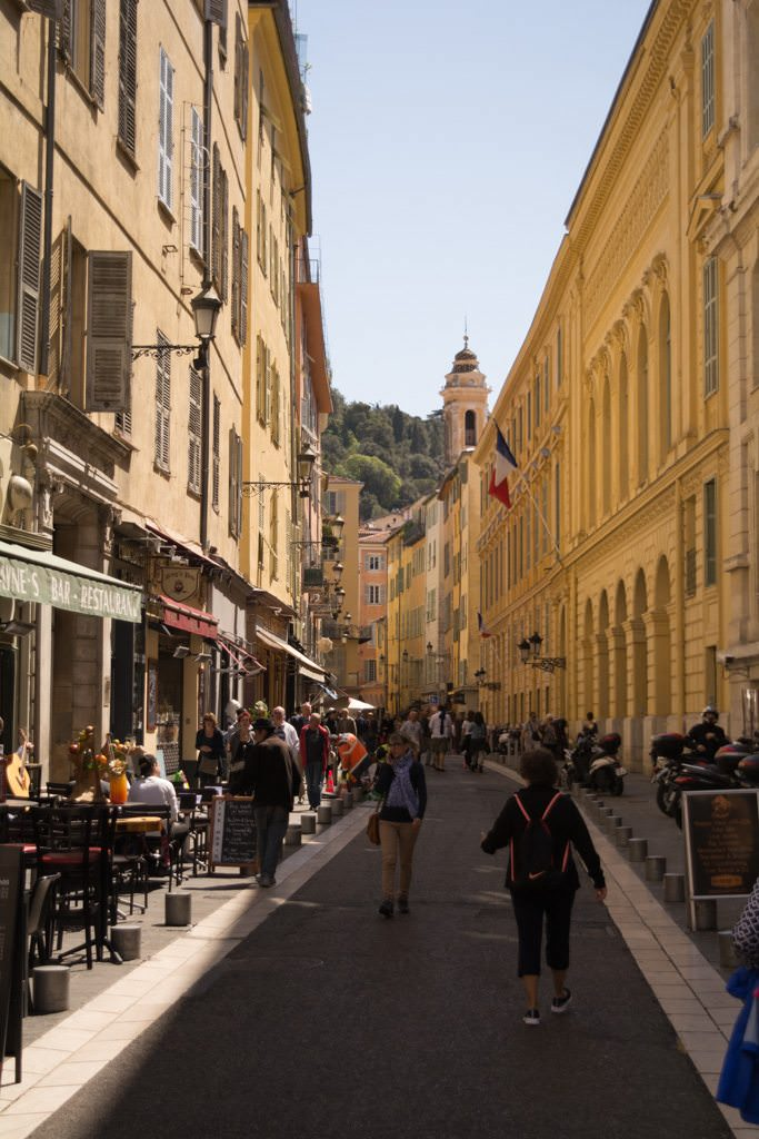After visiting Eze, we travelled to the beautiful city of Nice. Photo © 2016 Aaron Saunders