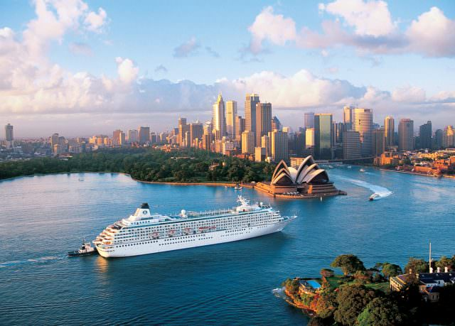 Crystal Cruises will let guests swap ships in Sydney, Australia as part of its World Cruise 2018 offerings. Photo courtesy of Crystal Cruises