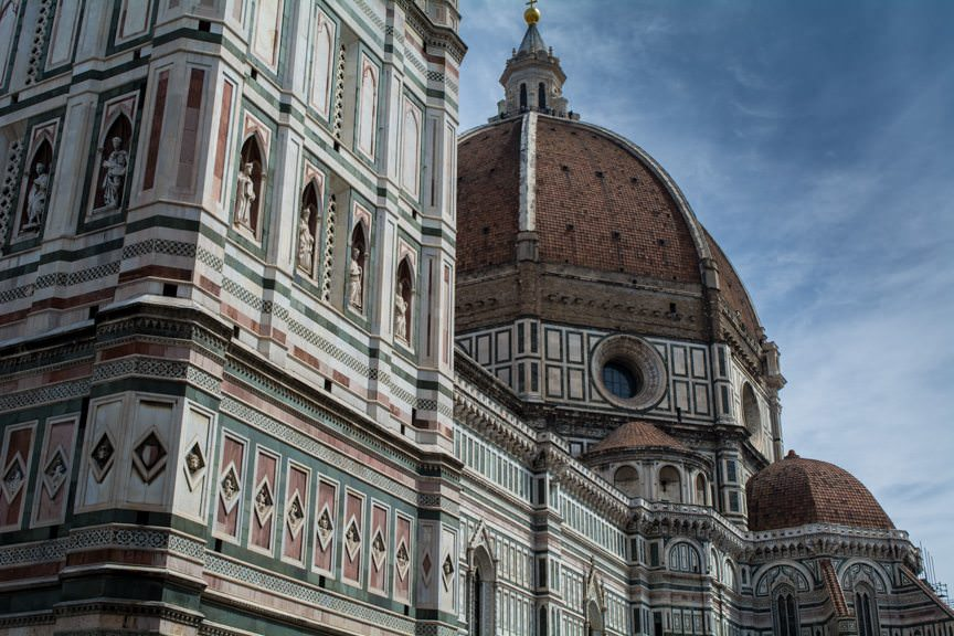 Today, guests aboard Silversea's Silver Spirit could choose between visits to Florence and Pisa. Guess which one I picked? Photo © 2016 Aaron Saunders
