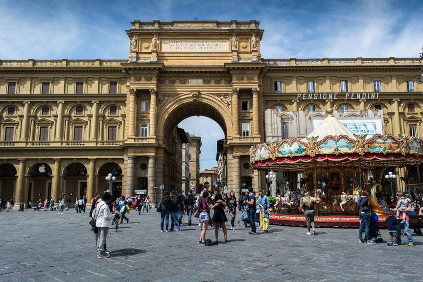 In addition, we were also given approximately four hours to enjoy Florence on our own. Photo © 2016 Aaron Saunders