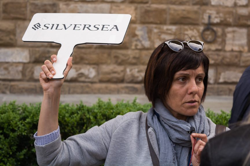 """Silversea offered two types of Florence tours: a full-day, guided tour for $129 per person, or a full-day, """"Florence On Your Own"""" excursion for $99. Photo © 2016 Aaron Saunders"""