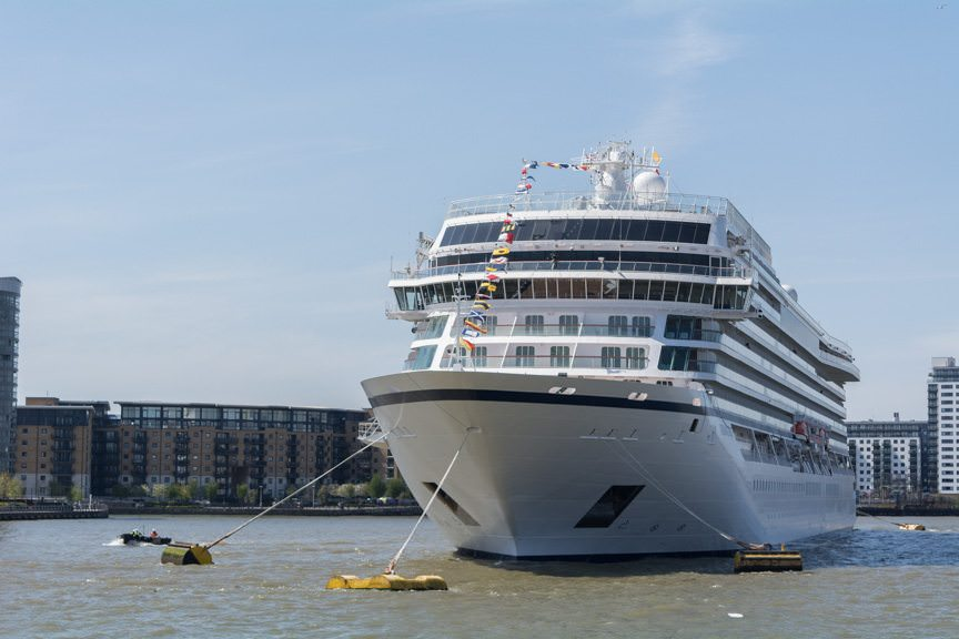 Viking will send Viking Sun, sister to Viking Star and Viking Sea, on the line's first-ever World Cruise in late 2017-2018. Photo © 2016 Aaron Saunders