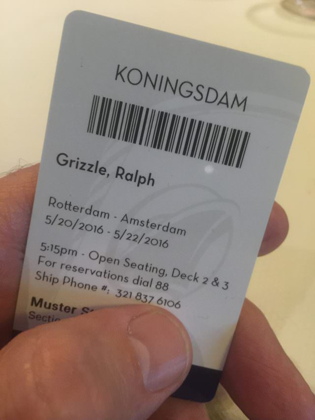 koningsdam review