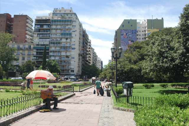 The fashionable district of Recoleta, one of the most sought after in Buenos Aires