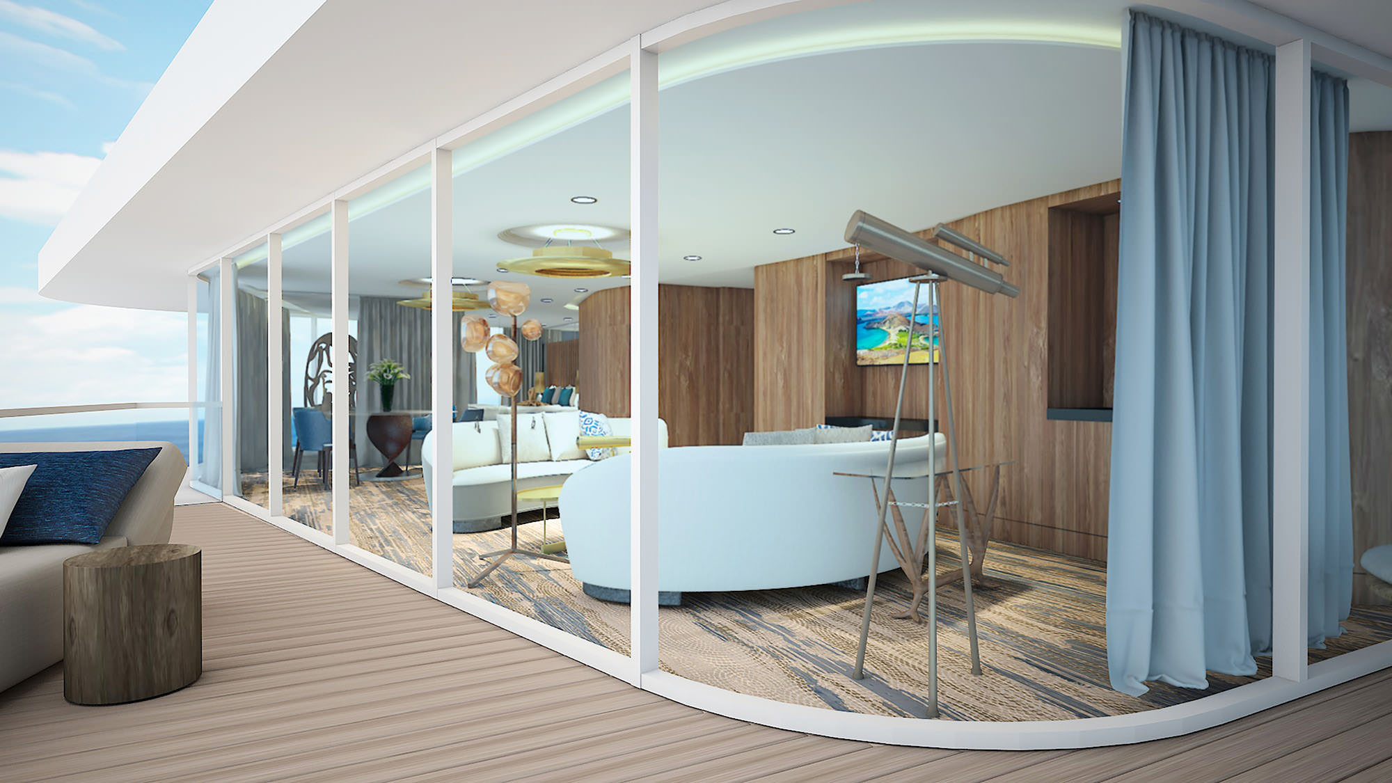 Inside The Most Luxurious Cruise Ship Suites in the World ...