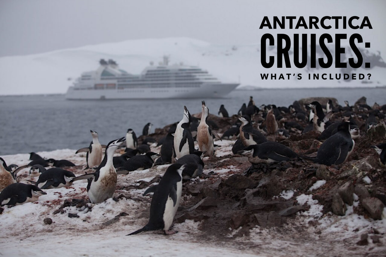 Antarctica Cruises: What's Included?