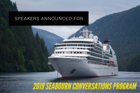 Speakers Announced For 2019 Seabourn Conversations Program
