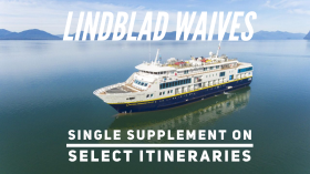 Lindblad Waives Solo Premium For Select 2019 Sailings