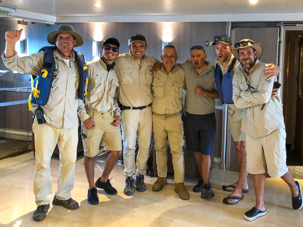 Silver Galapagos Expedition Team