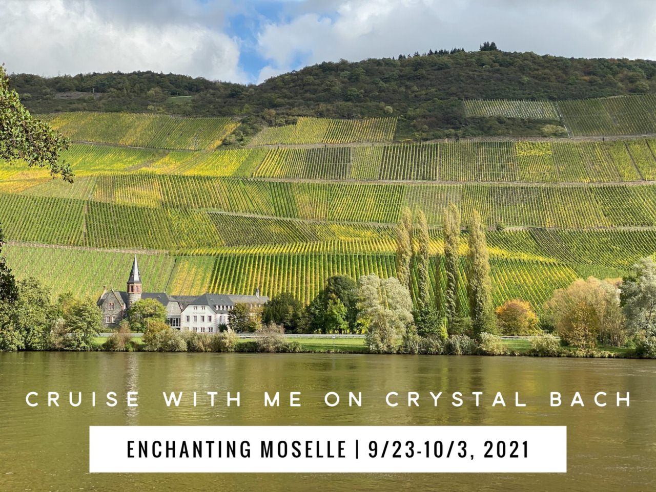 Moselle cruise Crystal Bach