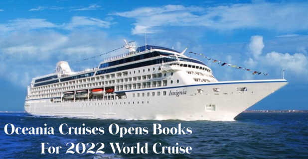 Oceania 2022 World Cruise