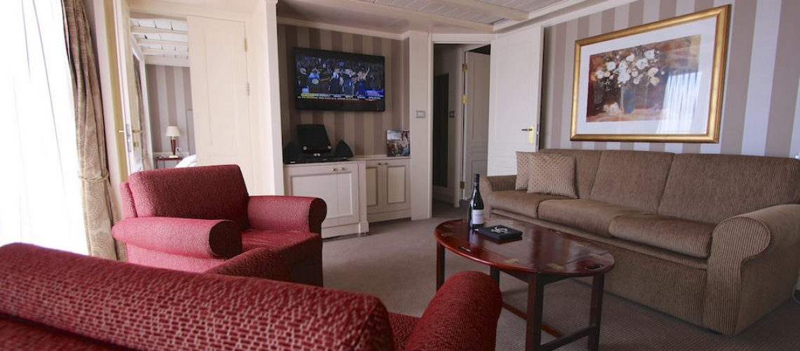 The Owner's Suite after the 2012 renovation.