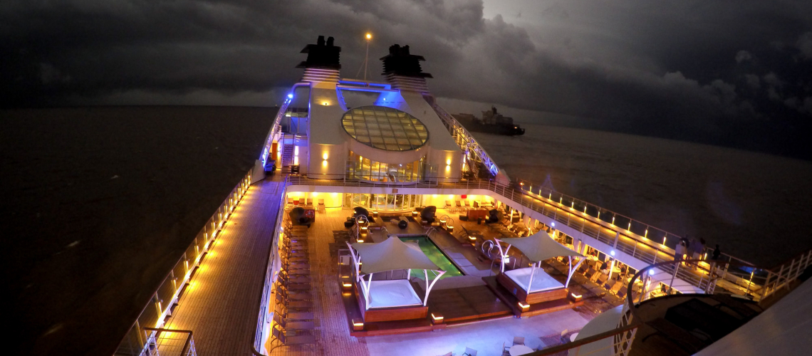 Seabourn Quest Storm