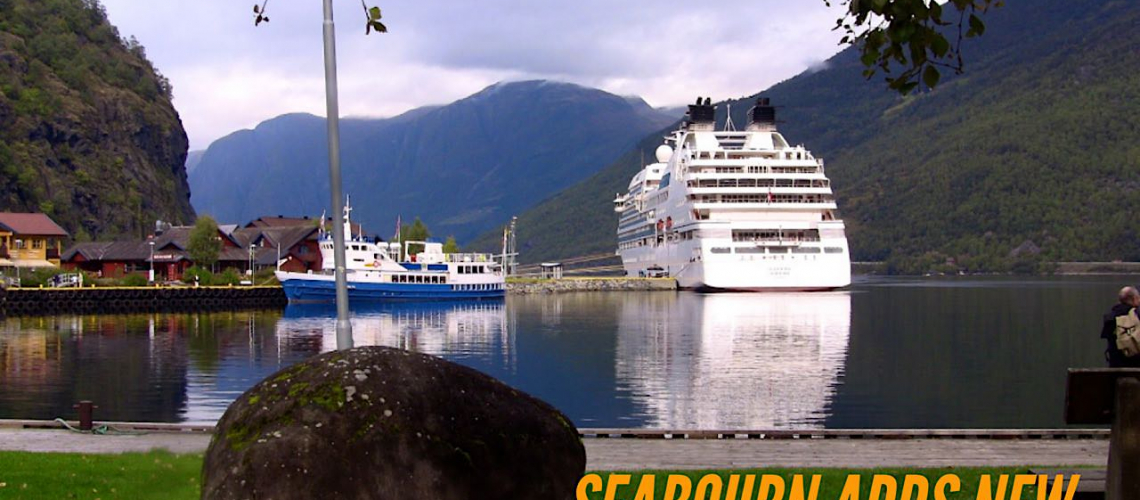 Seabourn Sojourn in Flam, Norway © Ralph Grizzle