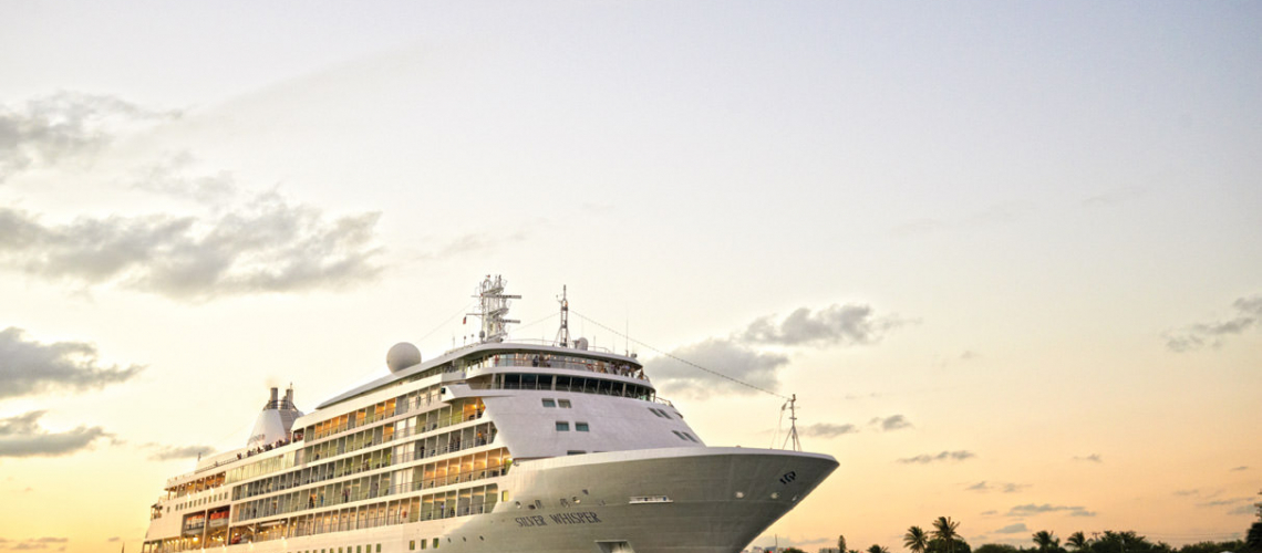 Join us as we travel to Quebec City to tour Silversea's elegant Silver Whisper! Photo courtesy of Silversea Cruises