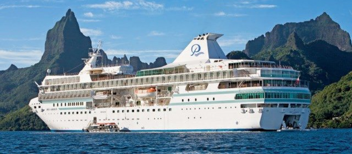Paul Gauguin Cruises' namesake ship was custom-built to sail the spectacular waters of the South Pacific. Photo courtesy of Paul Gauguin Cruises
